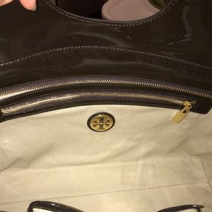 Tory Burch Bags - Tory Burch Bombe Tote in Chocolate | Never Used